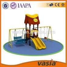 OEM SGS CQC Outdoor play Kids swing and slide