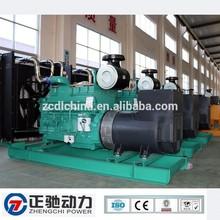 Generator manufacturing companies 500kva diesel generator fuel consumption 101.9L/h
