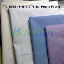 T/C 65/35 45*45 110*76 pocketing and poplin fabric
