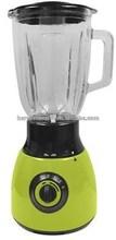1.7L Glass Jar Stainless Steel Blender - Apple Green