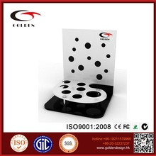 retail store custom acrylic cosmetic display stand furnitures for cosmetic display