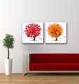 pinturas personalizadas modernas decorativas colgantes de pared de casa