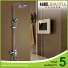 B-0098E-T brass bathroom set hand shower rain shower