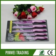 custom wholesale cheap promotional best kitchen knife set