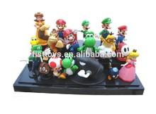 rubber toy, plastic cartoon toy, plastic cartoon figurine