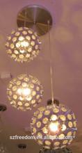 China consumer zhongshan factory cheap price hotel /living room /Restaurant/Kitchen modern room LED Chandelier lamp