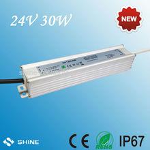 LED strip power supply, lighting transformers Waterproof LED NETZTEIL 24VDC 30W