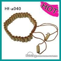 fashion style draw cord wood bracelets