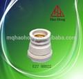 Hao hong e27 keramik lampenfassung/e27 porzellan lampenfassung