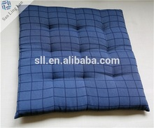 Brand New Hot Sale to Russia Blue and Colorful Square 40cmX40cm Chair cushion for Christmas