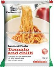 personalizado de alta calidad a granel en forma deitaliano pasta spaghetti