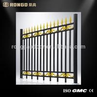 Customized cheap used aluminum fence