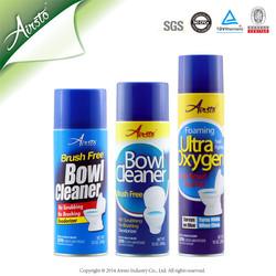 Aerosol Foam Toilet Bowl Cleaner