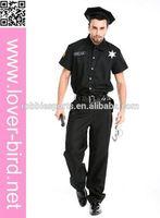 Wholesale 2012 New 4PC Sexy Police Women Costume