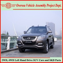 Chinese Sports Car Names GONOW Automatic 5 Speed Gasoline 4WD SUVs