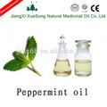 menta verde puro aceite esencial de fabricante en china para aliviar la picazón y especias