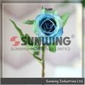 Artificial rosa azul flor, arranjos de flores artificiais, barato vermelho rosa artificial flor