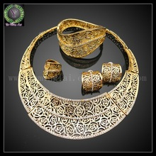 vogue italian gold plated jewelry sets ,rani haar sets designs in gold