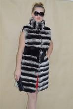 2015 High fashion women jacket winter fox rabbit fur coat mink coat rabbit fur coat fur vest