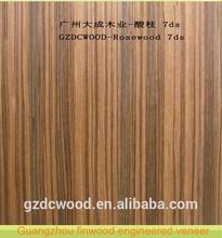 Rosewood 7DS from Guangzhou finwood recon veneer factory