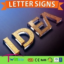 Customized stainless steel led channel letter sign/foam sign letters