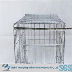 China supplier galvanized steel dog kennel on sale