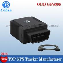 Plug & Play GPS306 Mini Car Tracker OBD II GPS Tracker for Taxi / Vehicle Fleet Management Support IOS & Android APP Rastreador