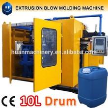 10L blue drums hdpe blow moulding machine