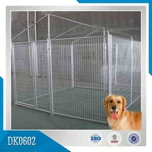 Galvanized Outdoor Pet Cage Dog Kennel