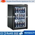 スーパーマーケット用品店・デスクトップミニ冷蔵庫、 ホテルミニバー付きシングルガラスのドア