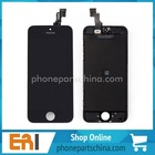 Free Shipping Black LCD Display+Touch Screen Digitizer Assembly for iPhone 5 5S LCD for iphone 5 for apple iphone 5 screen