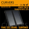 portable 13w 6v solar mobile charger with sunpower panel