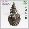 resina estátua indiana fonte