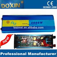 New arrival 4000W pure sine wave power inverter 12V 24V 220V