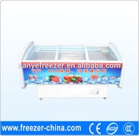 Factory sale hight guality and low price vegetable display cooler used in supermarket or store