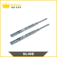 45mm Hydraulic 3-fold Ball Bearing Drawer Slide
