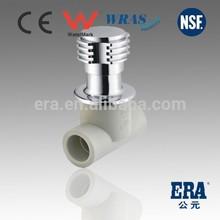 Best Quality new material ERA ppr ball cock valve stop valve