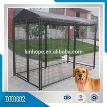 Galvanized Portable Dog Kennel