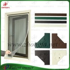Patent owned self assembley mosquito screen for casement window