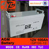 100 amp hour battery 24v 100ah battery,24v agm deep cycle battery for solar wind power telecom system