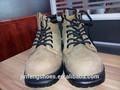 Industrial workman's barato de acero del dedo del pie de cuero de la marca de zapatos de seguridad para el senderismo y al aire libre en20345 ce