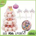 La boda de la torre soporte de la torta, Wedding Cake Stand Display tiers, Venta al por mayor gradas de la torta 3 Tier