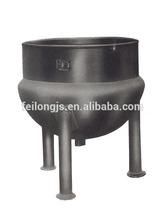 Fixed laminated pot