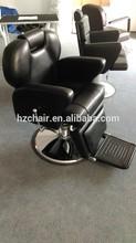 Reclining big hydraulic pump and base barber chair for hair salon