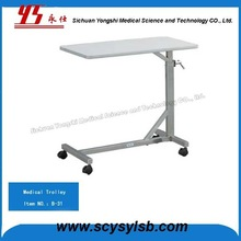 Hospital Overbed Patient Dining Table for sale