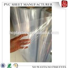 transparent pvc rigid sheet super clear transparent soft pvc thin plastic sheet