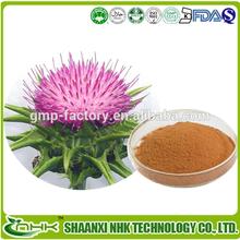 Hot selling free sample Milk Thistle Extract silymarin powder
