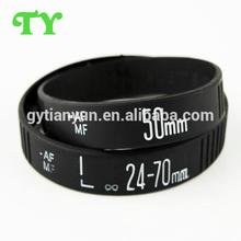 soft stylish customized festival fabric wristband for promotional activity