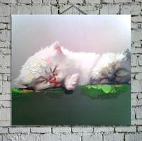 Modern decorative canvas cats painting