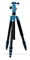 Professional Carbon Fiber TelescopicTripod or turnover tripod also as video camera tripodCC-289+QF1T